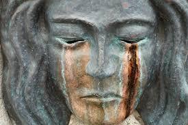 Sculpture Masque Larmes Bronze - Photo gratuite sur Pixabay